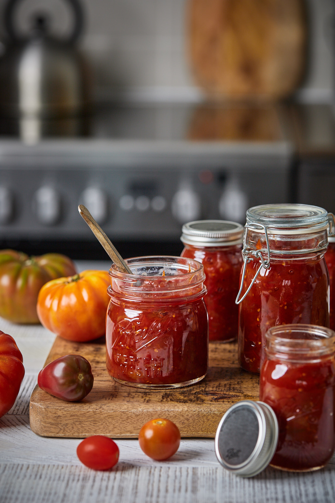 Sweet and Savoury Tomato Jam