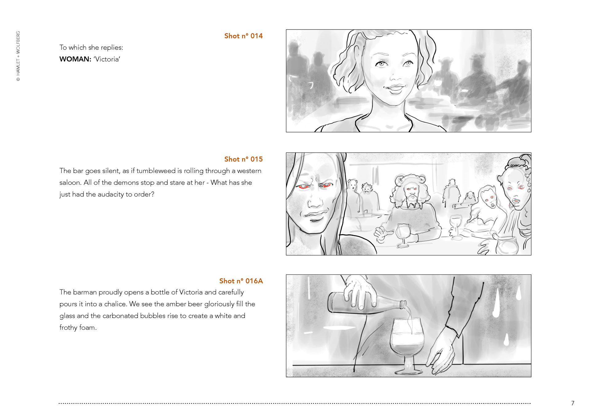 Victoria Angels & Demons storyboard 07