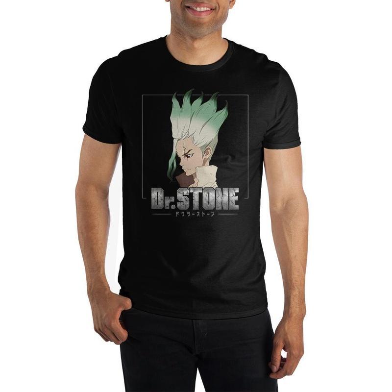 Dr. Stone Short Sleeve Black T-Shirt Wear