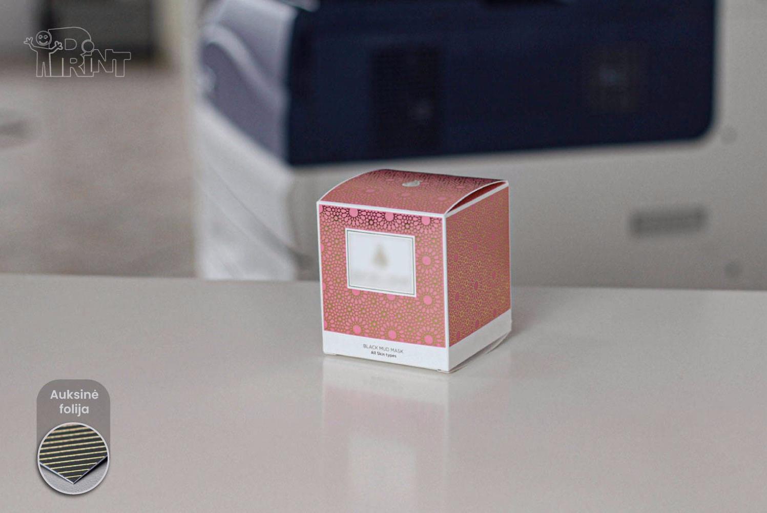 Kartoninės dėžutės kvepalams