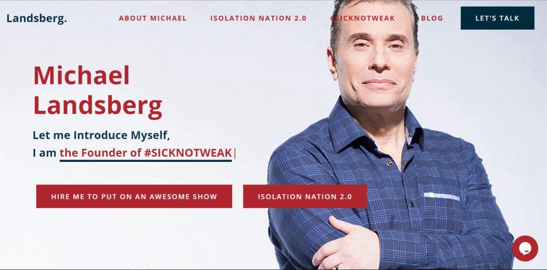 Michael Landsberg Website by Joshi Digital
