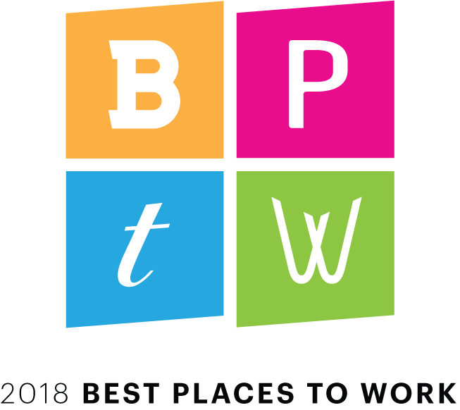 Best places to work 2018 logo