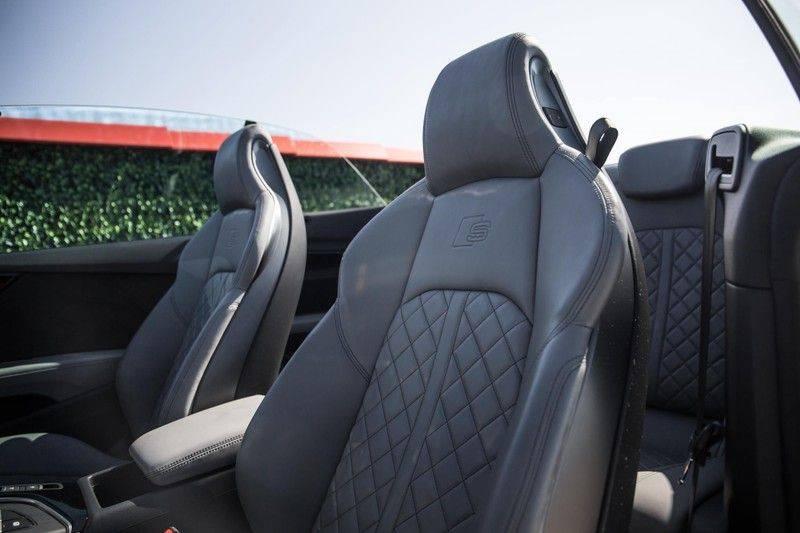 Audi S5 Cabriolet 3.0 TFSI S5 quattro | 354 PK | S-Line | B&O Sound | Assistentie City-Parking | S-Sportstoelen | Virtual Cockpit | Keyless-entry | Massage-Stoelen | afbeelding 24