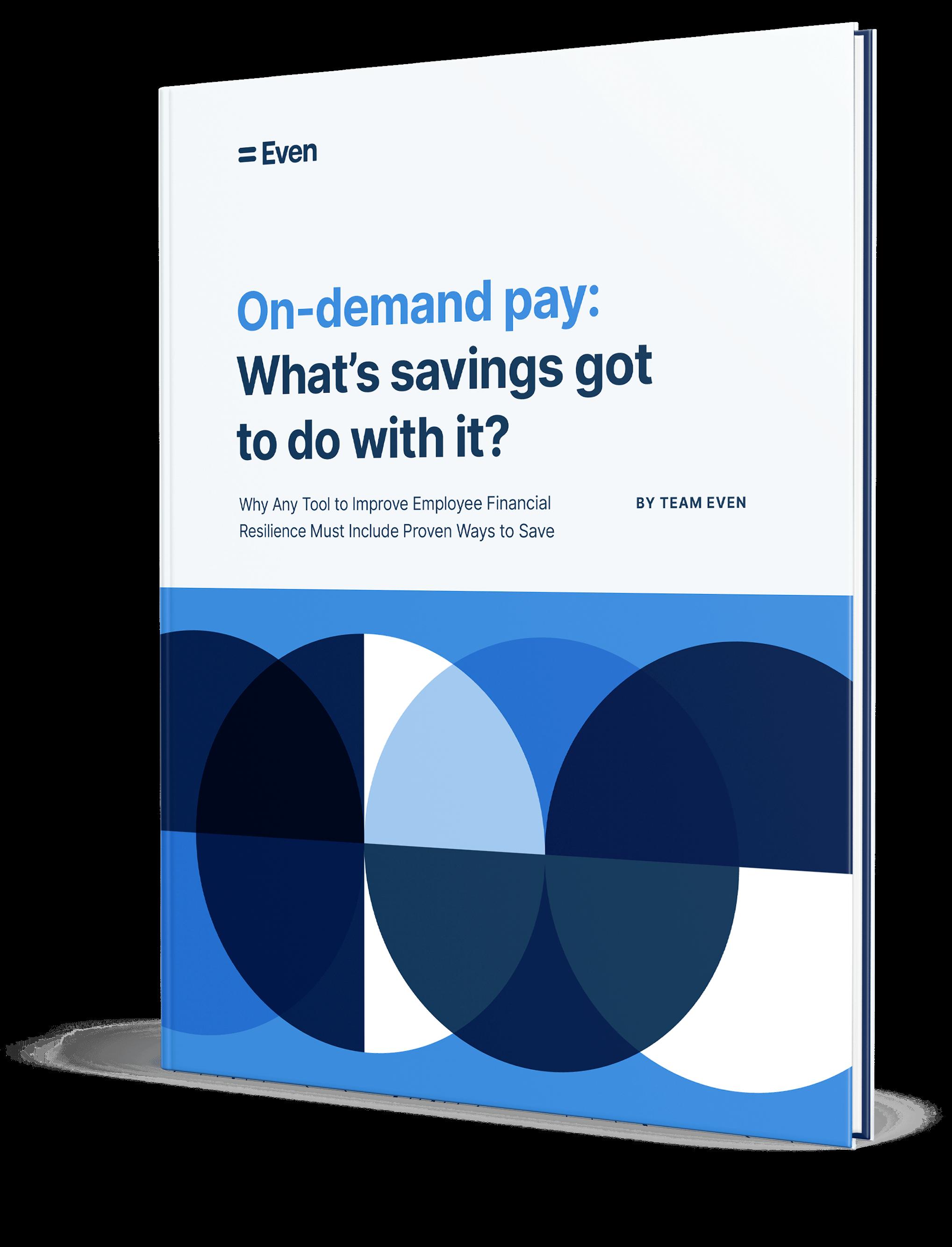 savings ebook