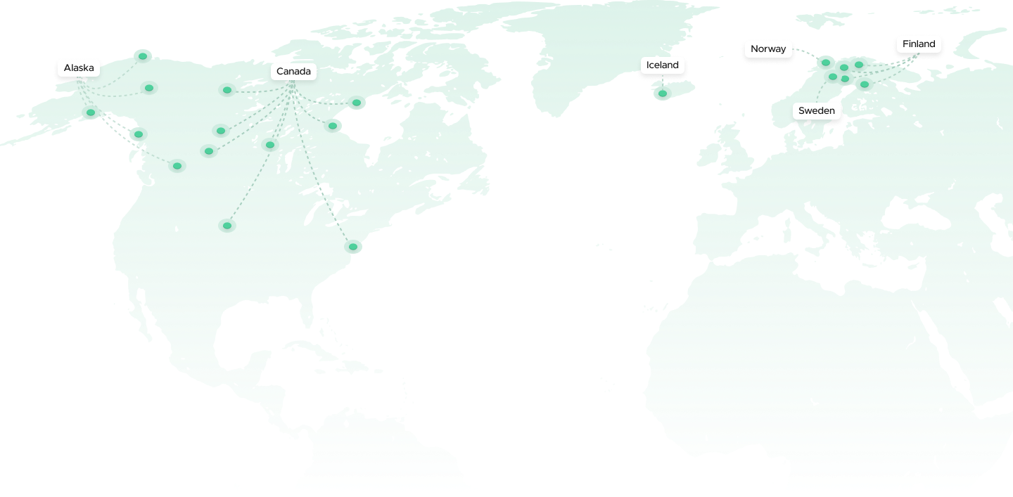 Magnetometers locations