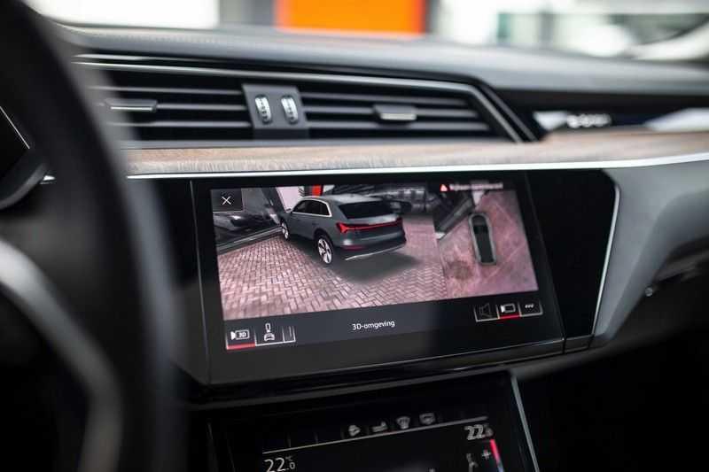 "Audi e-tron 55 Quattro *4% Bijtelling / Massage / HUD / Pano / 21"" / Hulppakket Stad & Tour* afbeelding 10"