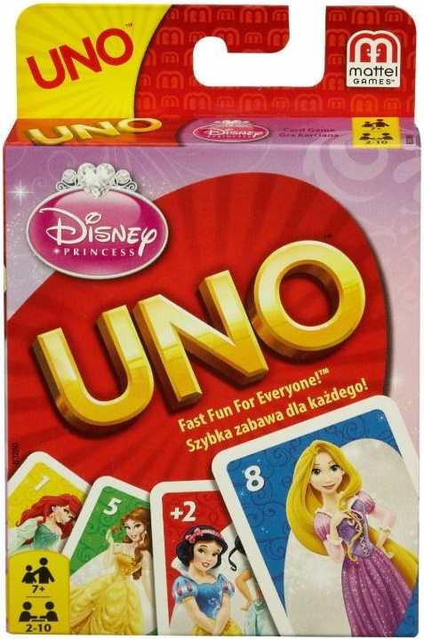 Disney Princess Uno (2012)