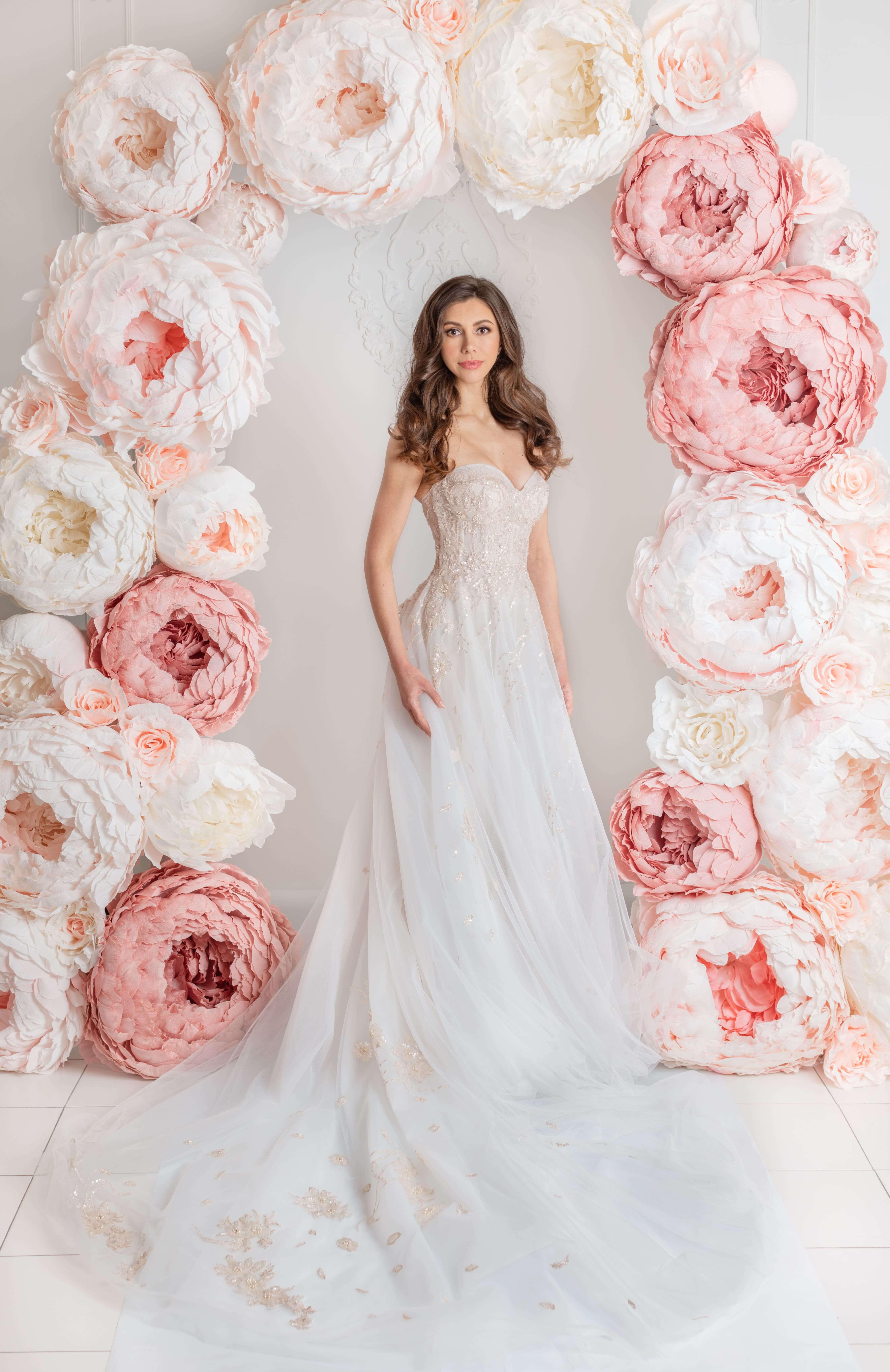lilia haute couture robes de mariee montreal robe de mariee style princesse