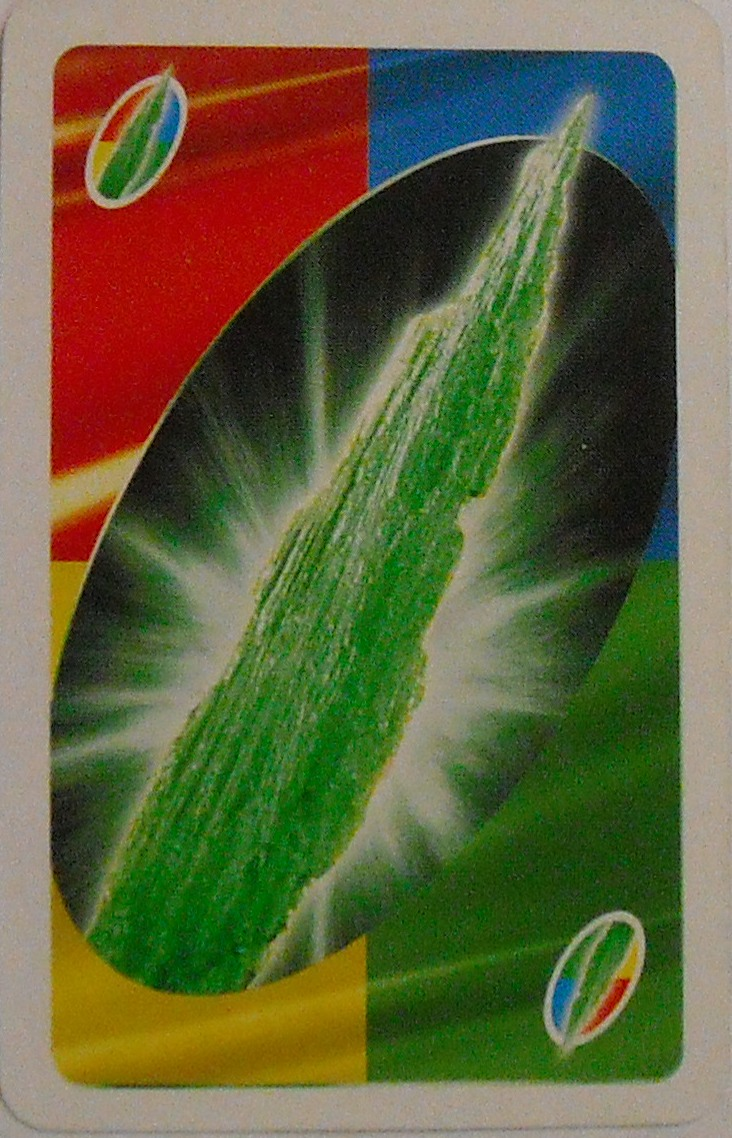 Superman Returns Uno (Kryptonite Card)