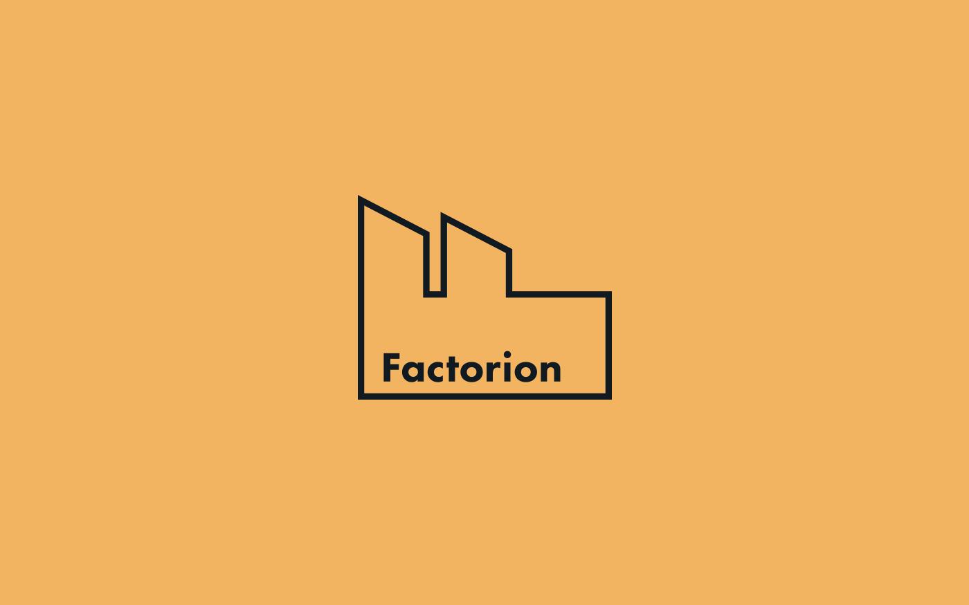 Factorion logo design