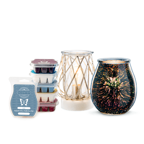 Perfect Scentsy - $66 Warmers