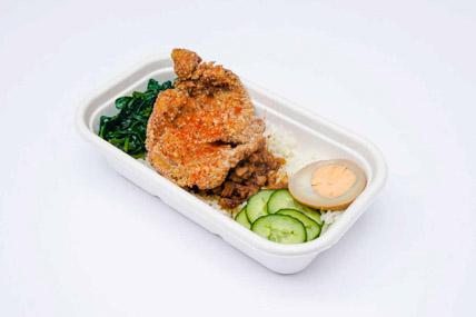 ChickCha - Rice - Taiwanese schnitzel rice