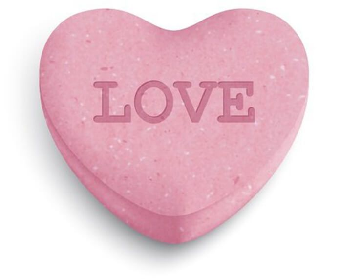 Valentine's candy heart
