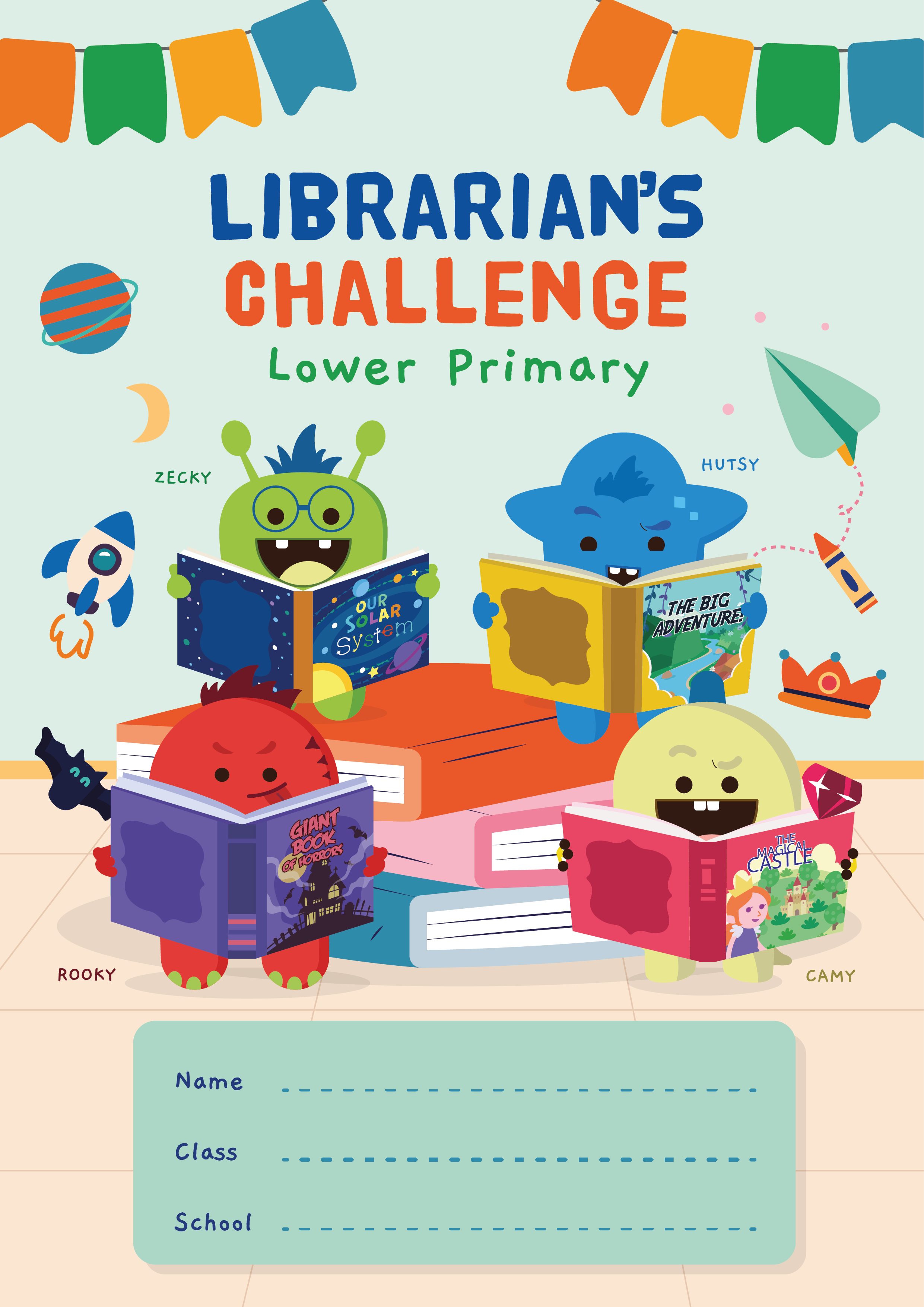 Lower Primary Librarian's Challenge 2021
