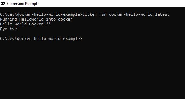 Docker Run