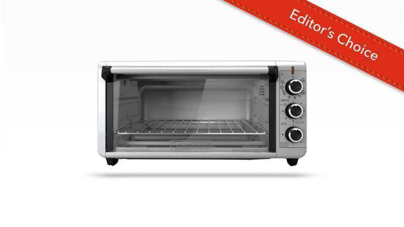 BLACK+DECKER TO3240XSBD 8-Slice Toaster Oven
