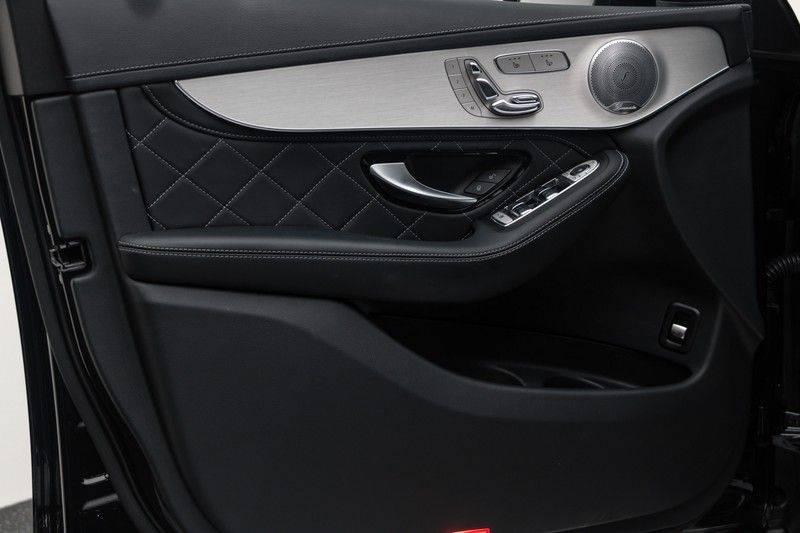 "Mercedes-Benz GLC GLC43 AMG 367pk 4Matic Panoramadak Luchtvering Nightpakket Distronic Keyless Burmester Sportleder+Memory Carbon AmbientLight ComandOnline 21"" Parktronic 360Camera Pdc afbeelding 14"