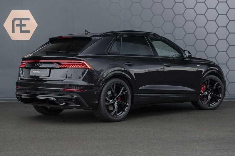 Audi Q8 55 TFSI quattro Pro Line S 3x S-Line! Black pack, 4-wiel-best. / Massage, Verw. & Koelb. stoelen, Bang & Olufsen 3D + Elek.Haak + Ambiente verlichting afbeelding 24