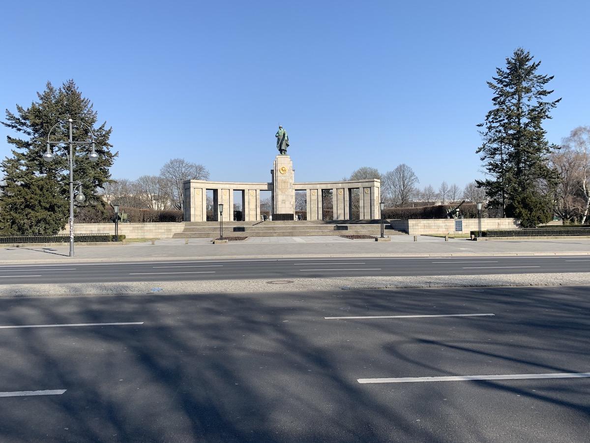 Мемориал павшим советским воинам вТиргартене. Фото: Константин Кропоткин