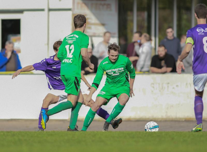 Groenwit geeft een 0-2 voorsprong uit handen tegen Steenhuffel