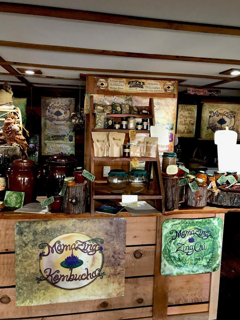 Farmer's Market fresh kombucha