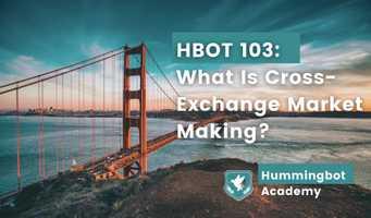 What is cross exchange market making?