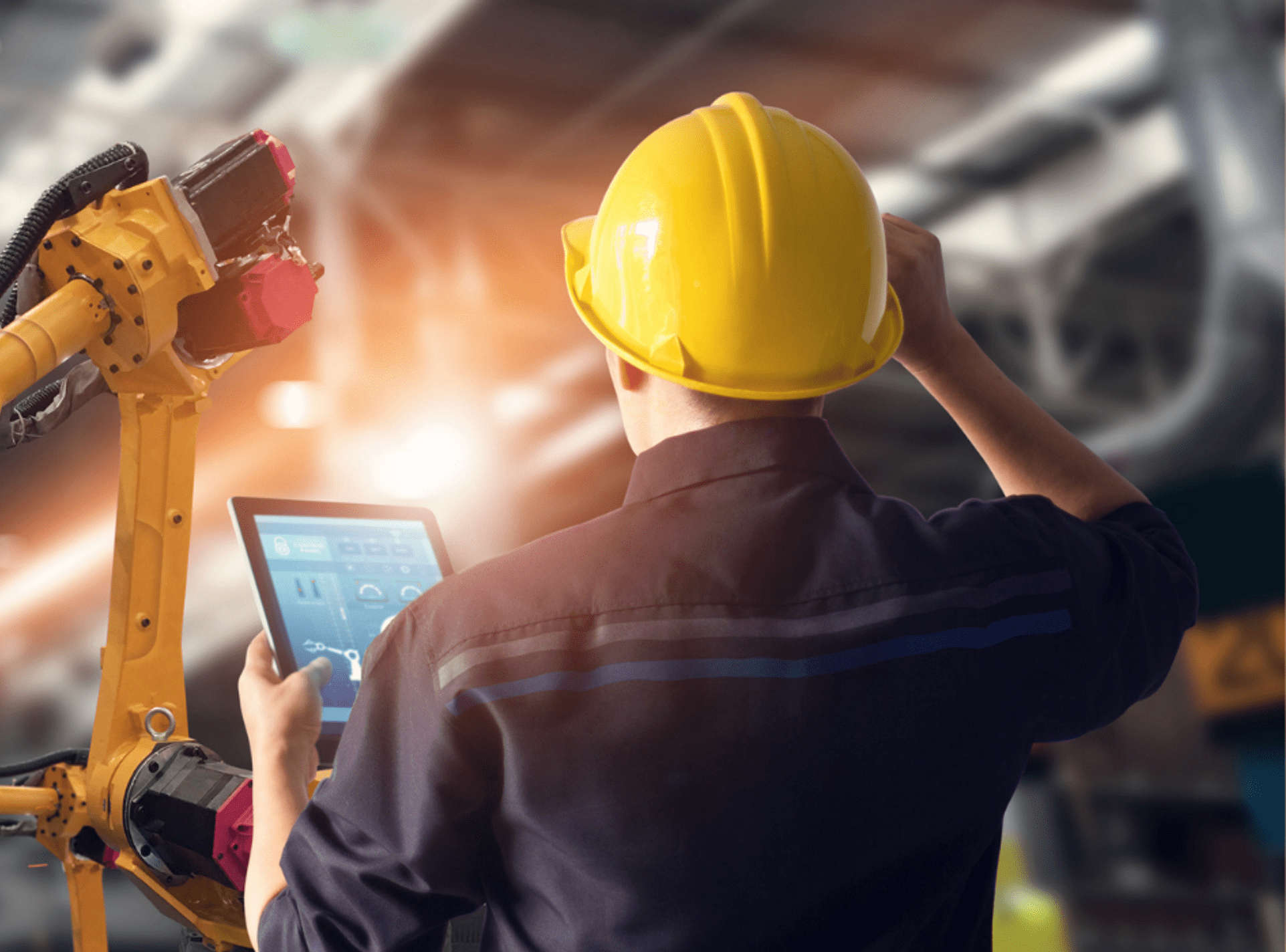 Accruent - Resources - Webinars - Industry 4.0 Explained - Driving excellence across manufacturing - Hero