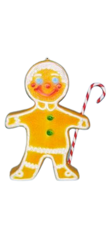 Deluxe Gingerbread With Cane photo