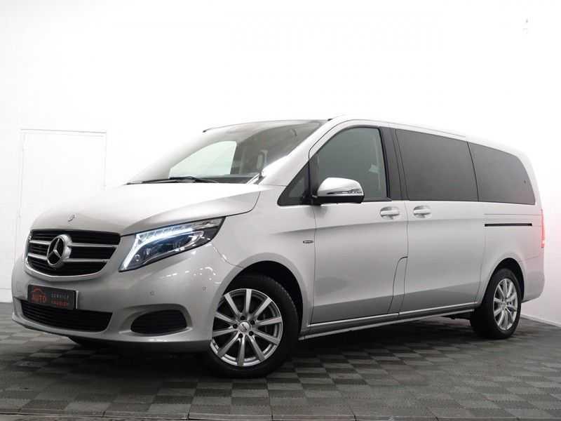 Mercedes-Benz V-Klasse 220 CDI Lang Dubbel Cabine 5/6 Pers Amg Style Autom- Navi, Camera, Xenon afbeelding 3