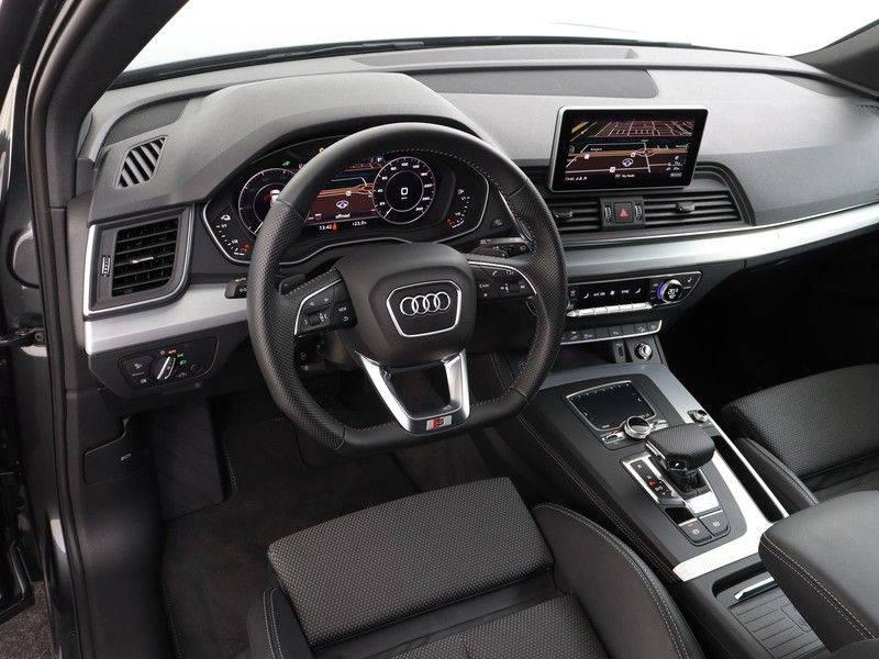 Audi Q5 50 TFSI e 299 pk quattro S edition | S-Line | Trekhaak | Elektrisch verstelbare/verwarmbare voorstoelen | Privacy Glass | Verlengde fabrieksgarantie afbeelding 2
