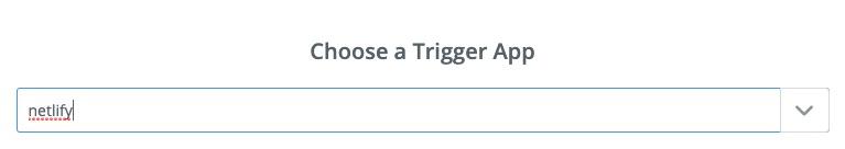 Zap Trigger