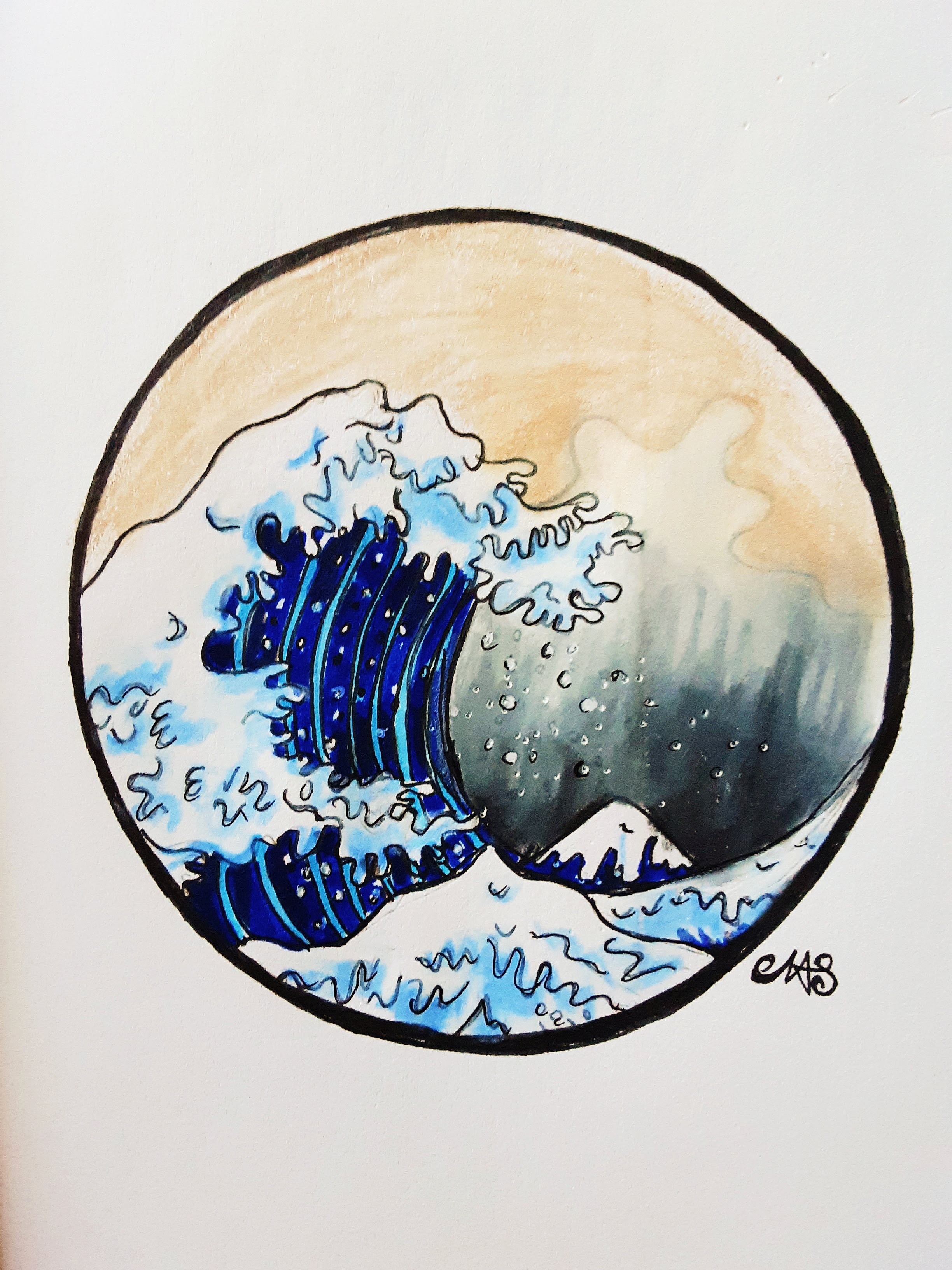 The Great Wave - Inspired by Katsushika Hokusai