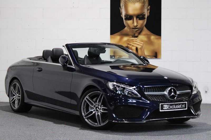 Mercedes-Benz C-Klasse Cabrio 180 Edition 1 AMG styling aut. afbeelding 4