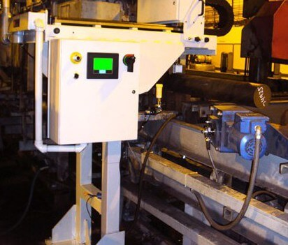 Surface Inspection of Square Billets with the temate RB-S HMI