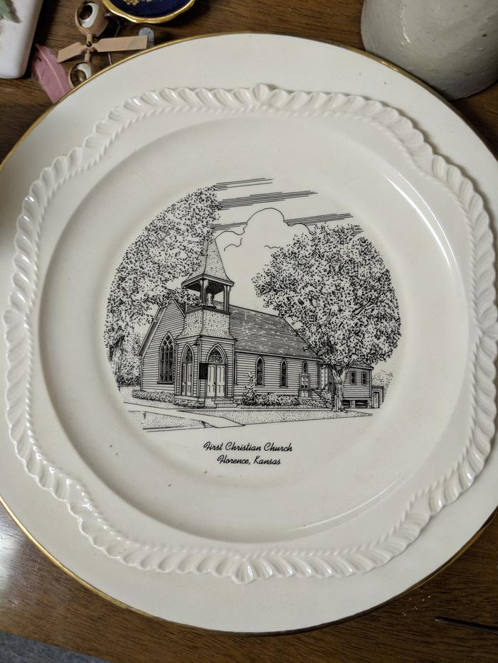 A plate from Kasnas that made it to Idaho