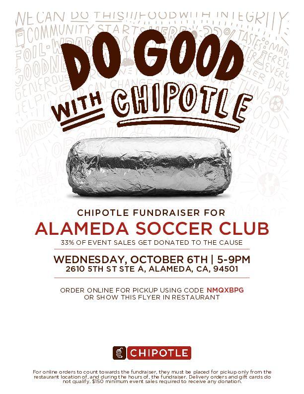 ASC Chiptle Fundraiser flyer