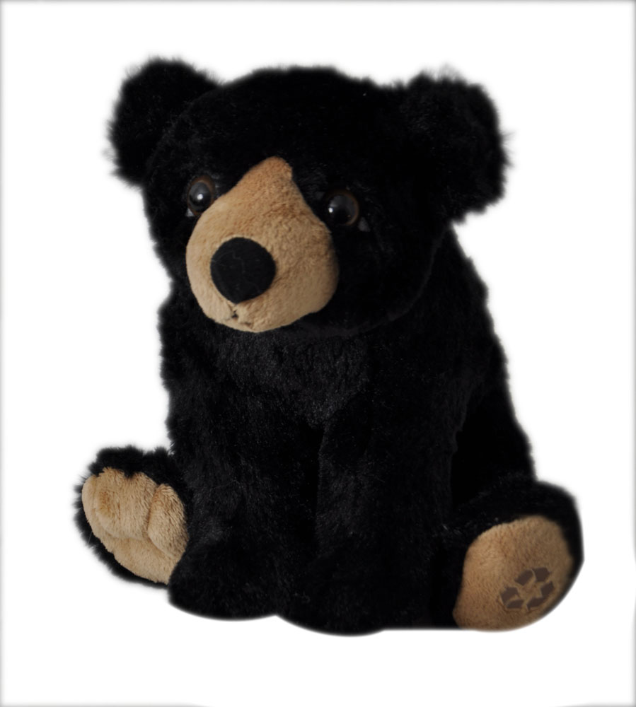 "The Petting Zoo: 8"" Wild Onez Black Bear"