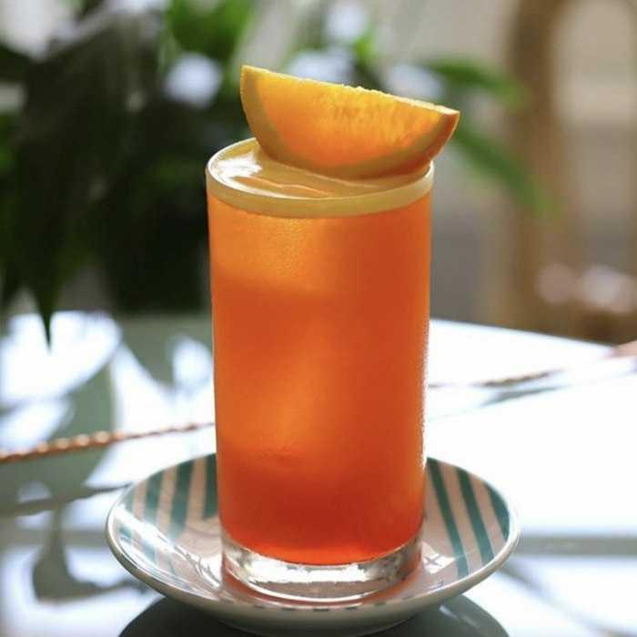 Garibaldi Negroni Cocktail