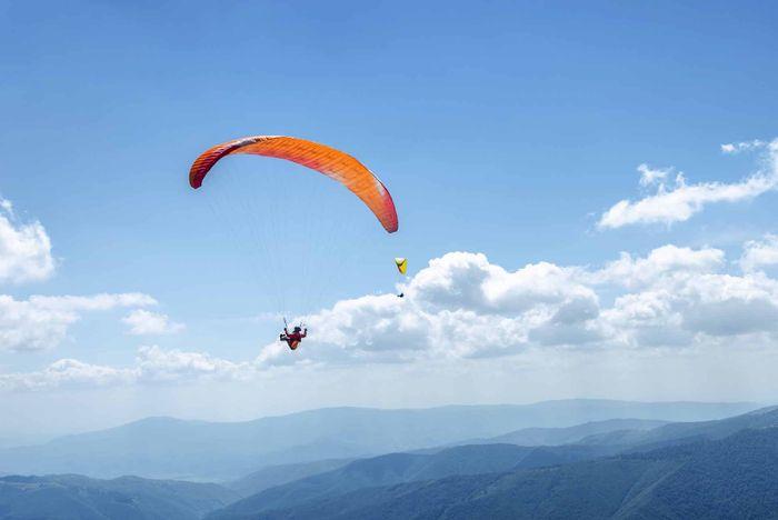 Paragliding Budapest