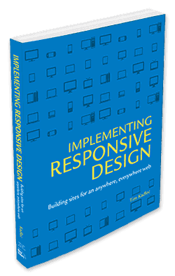 Implementing Responsive Design Book Cover