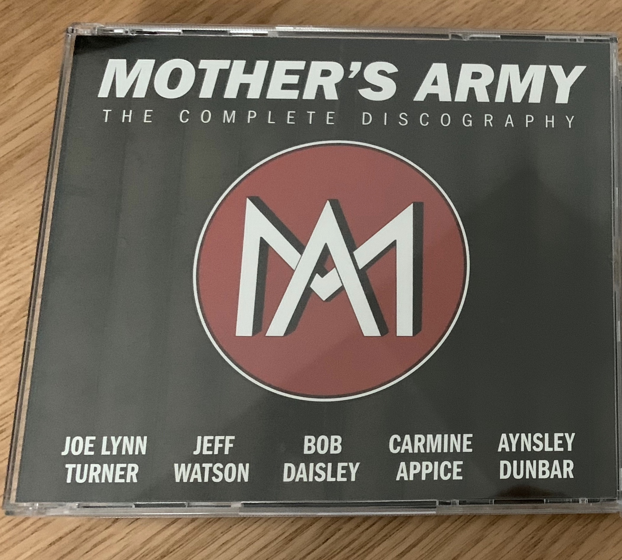 Signed CDs from Mother's Army