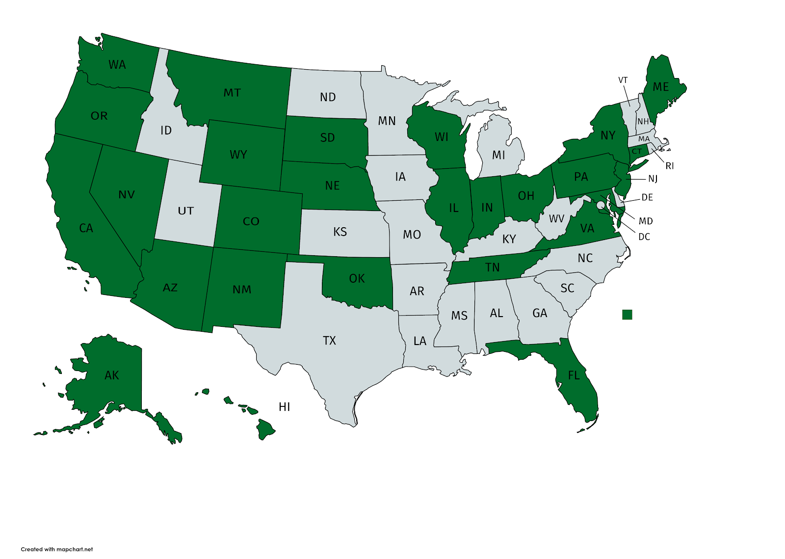 27 States make committee votes public on the website