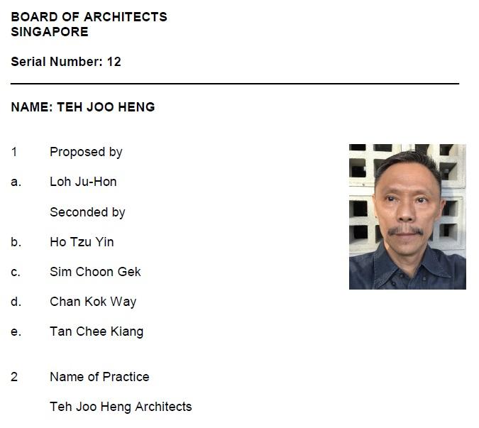 Teh Joo Heng