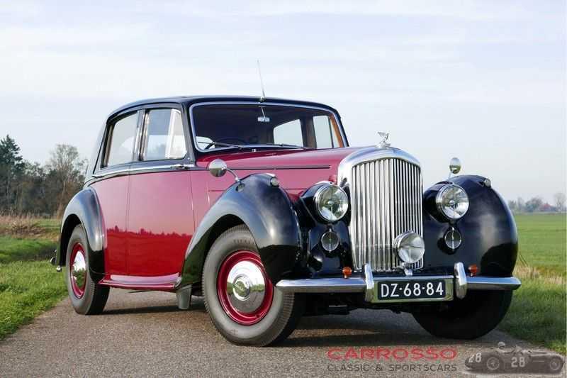 Bentley MARK VI Sports Saloon 4.25 Litre afbeelding 22