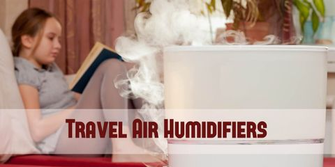 A good travel humidifier makes a big difference in your living/working space. It alleviates dryness and allergies, and it also relieves cold symptoms