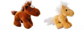 "The Petting Zoo: 7"" Miniz Horse Assortment"