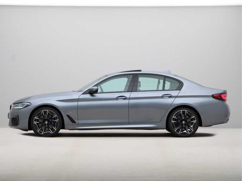 BMW 5 Serie 530i High Exe M-Sport LCI afbeelding 12