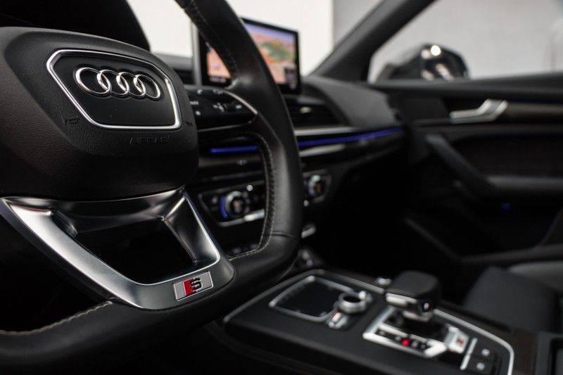 "Audi SQ5 3.0 TFSI 354pk Quattro Black Edition Panoramadak Luchtvering Valconaleder+Memory Carbon Matrix-Dynamisch Keyless Navi-High ACC DriveSelect  21""Performance 360Camera Pdc afbeelding 19"