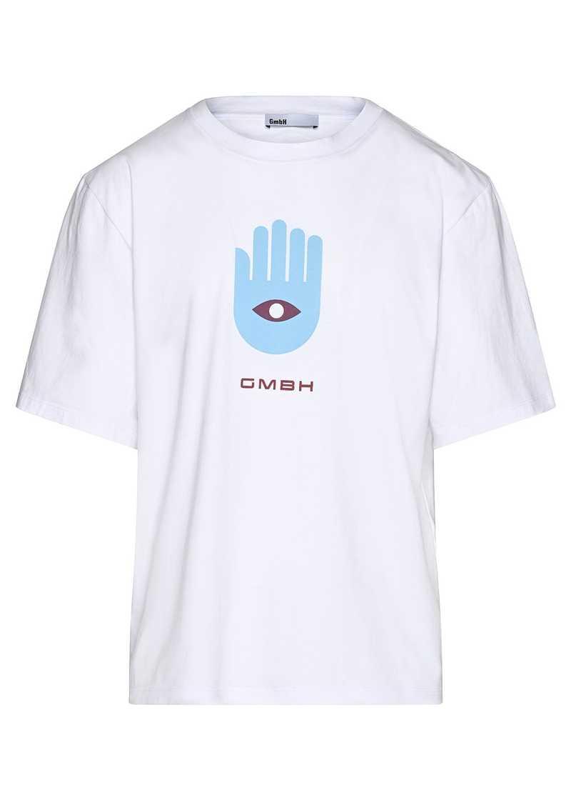 BIRK t-shirt white unisex. GmbH Spring/Summer 2021 'RITUALS OF RESISTANCE'