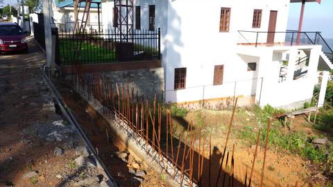 Plot 38 Serenitea - RCC retention wall complete